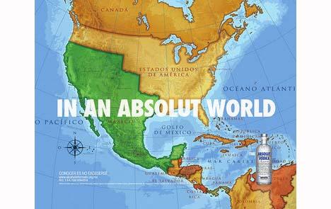 Anúncio Vodka Absolut