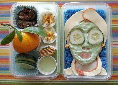 Criatividade em marmita