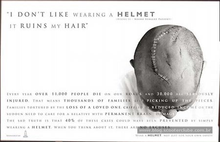 I Won´t Wear a Helmet
