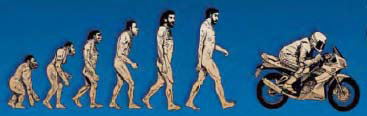 evolution-man-motorcicle