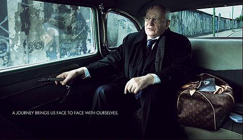 Mikhail Gorbachev + Louis Vuitton