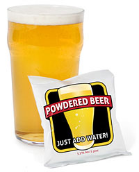 powdered-beer