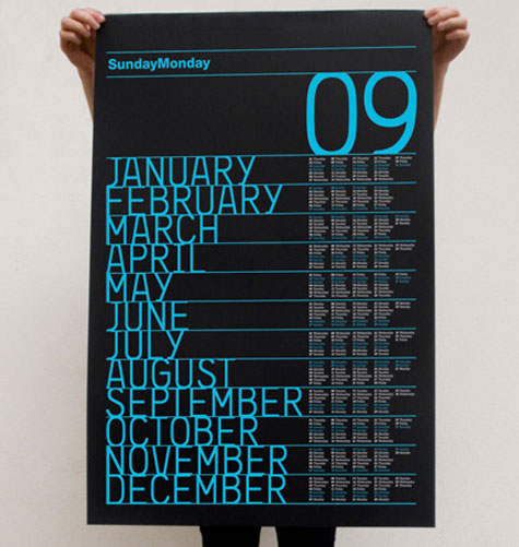 black-calendar