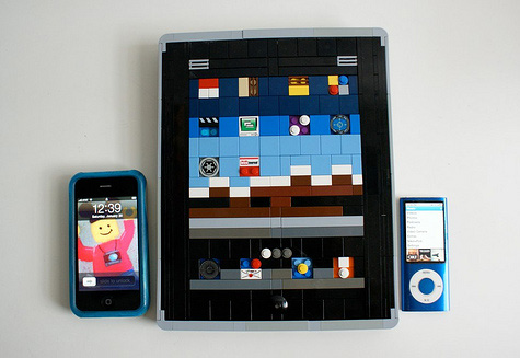 Ipad, Iphone e Ipod, criados com Lego