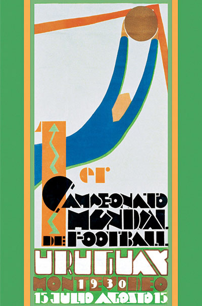 Cartaz Copa Uruguai 1930