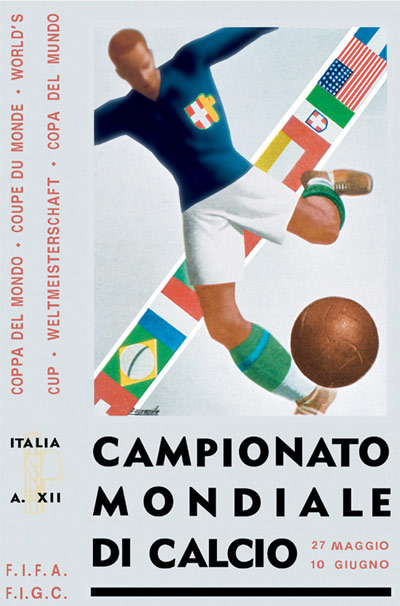 Cartaz Copa 1934