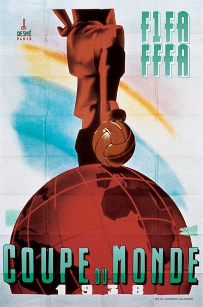 Cartaz Copa de 1938