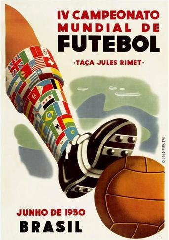 Cartaz Copa de 1950