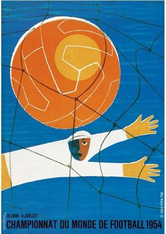 Cartaz Copa de 1954