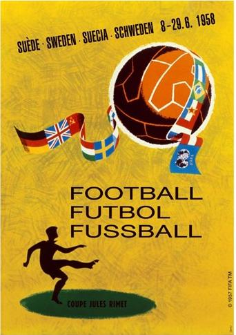 Cartaz Copa de 1958