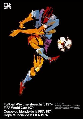 Cartaz da Copa de 1974