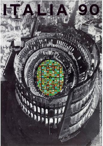 Cartaz Copa do Mundo de 1990