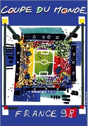 Cartaz da Copa de 1998