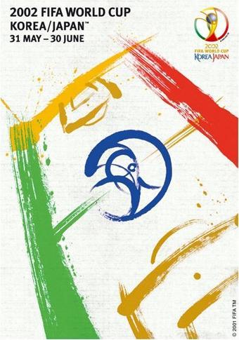 Cartaz da Copa de 2002