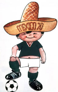 Mascote Juanito 1970
