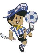 Mascote Gauchito 1978