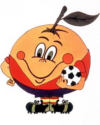 Mascote Naranjito - 1982