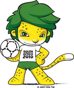 Mascote Zacumi 2010