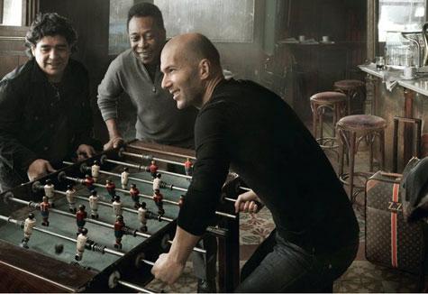 Pelé, Maradona e Zidane