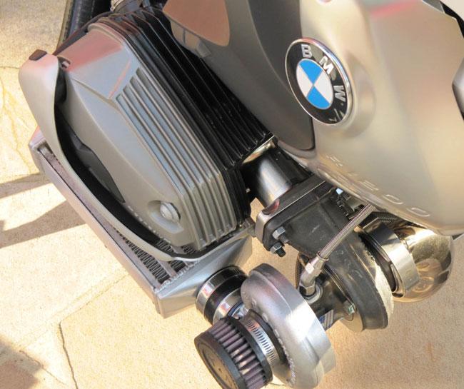 moto bmw gs1200 com turbo bw e 170cv