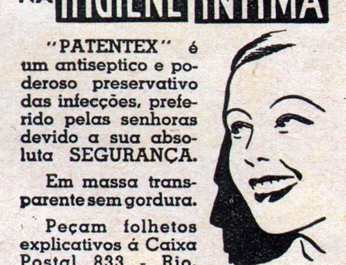 Patentex | Higiene Íntima das mulheres em 1937