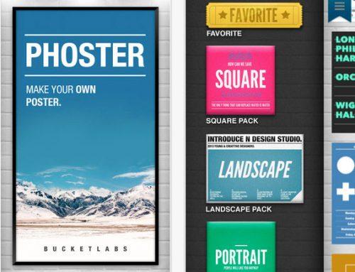 iPhone, iPad e iPod | App que permite criar pôsters fica gratuito por tempo limitado
