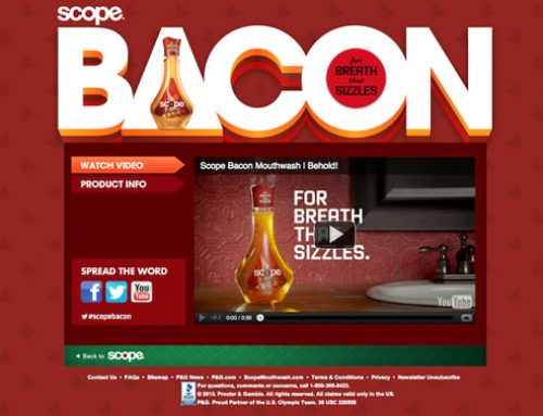 #scopebacon | Enxaguante bucal sabor bacon