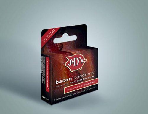 Bacon Condom | Camisinha com sabor, estampa e cheiro de bacon