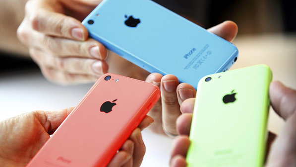 Cores do iPhone 5C