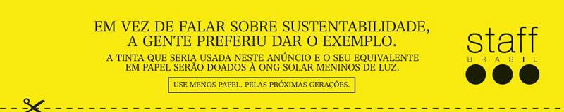 Anúncio Sustentável