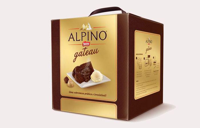 Alpino Gateau, o panetone para ser comido quente