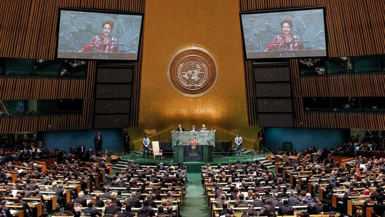 Assembleia Geral da ONU com pronunciamento da Dilma