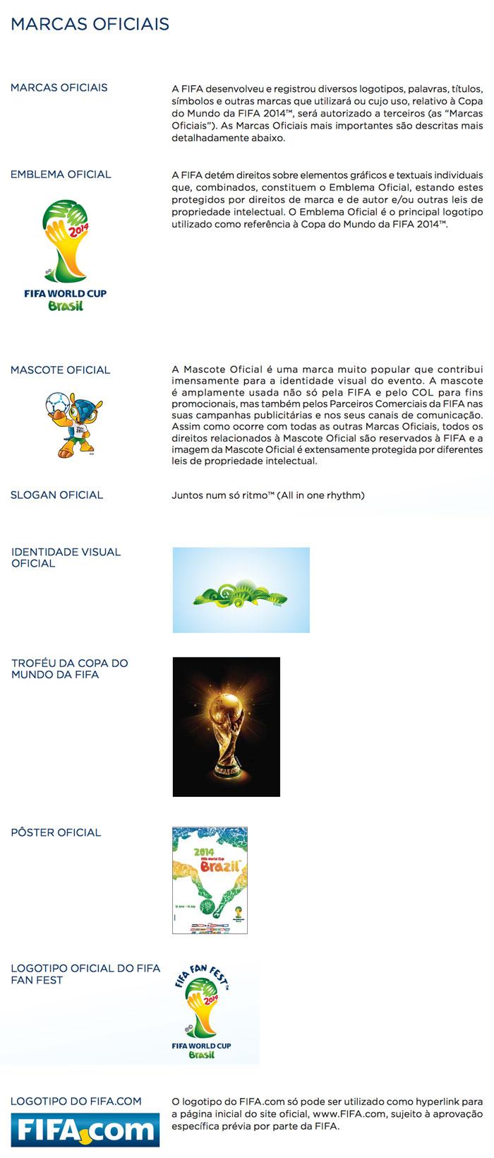 Marcas Oficiais da Copa do Mundo da FIFA no Brasil em 2014