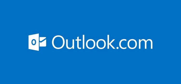 Logo Negativo Outlook.com