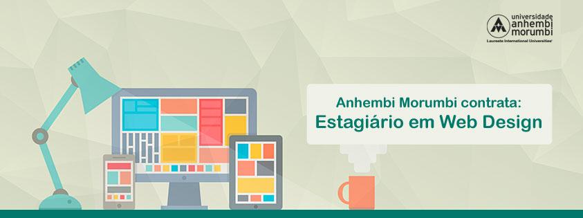 Vaga Estágio Web Design