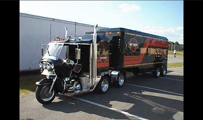 harley-truck