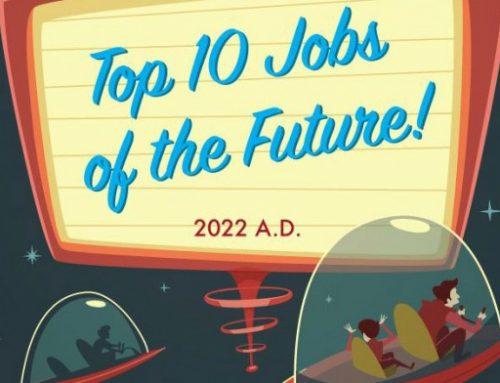 Infográfico | As top 10 profissões para o futuro