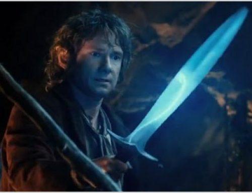 Réplica da espada do Hobbit acende ao detectar redes wi-fi sem senha