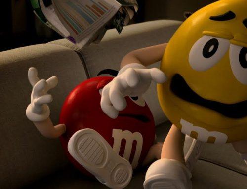 M&M'S volta à TV com muito humor
