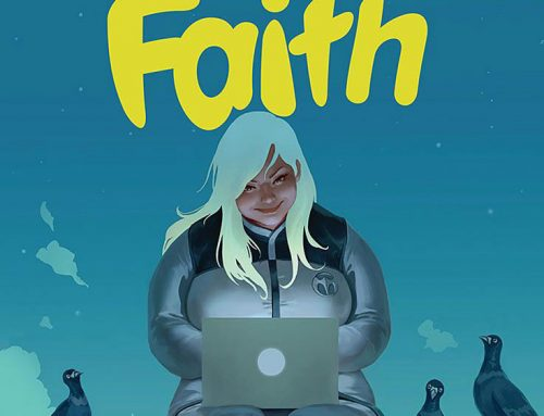 Faith, a 1ª heroína plus size de HQ