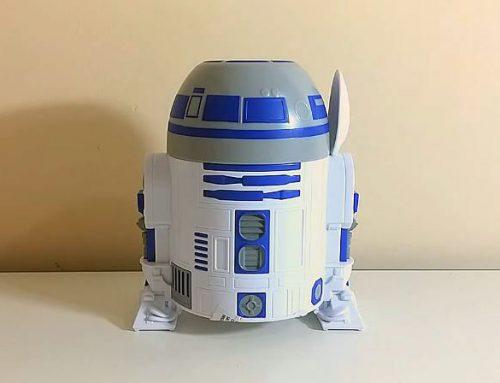 Robô R2D2 de Star Wars vira brinde no Nescau Cereal