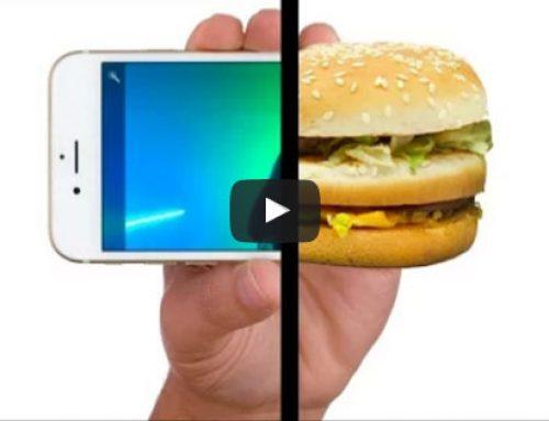 Produtos McDonald´s anunciados como os da Apple