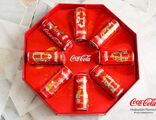 Coca-cola e as latinhas para o Ano Novo Chinês