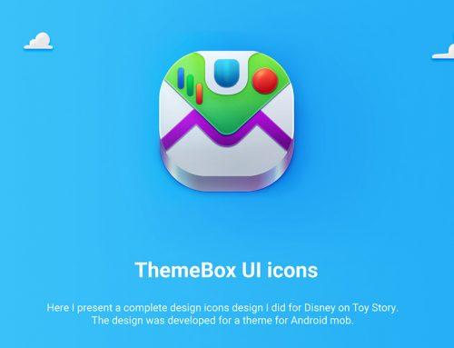 Ícones do Android inspirados em Toy Story