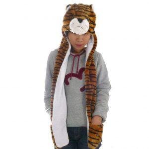 touca-bicho-pelucia-cachecol-tigre