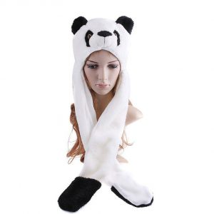 touca-bicho-pelucia-urso-panda-cachecol