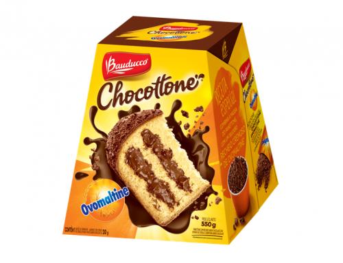 Chocottone de Ovomaltine da Bauducco