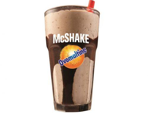 """Milk-shake de Ovomaltine"" agora só no McDonald's"
