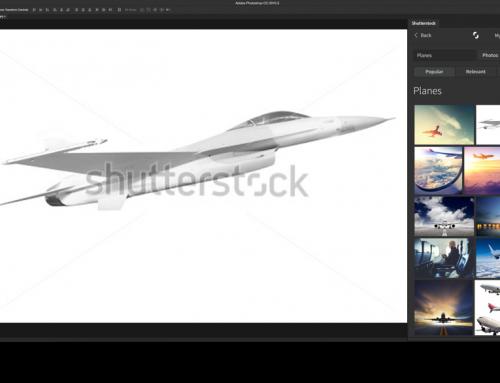 Abrir imagens Shutterstock diretamente no Photoshop