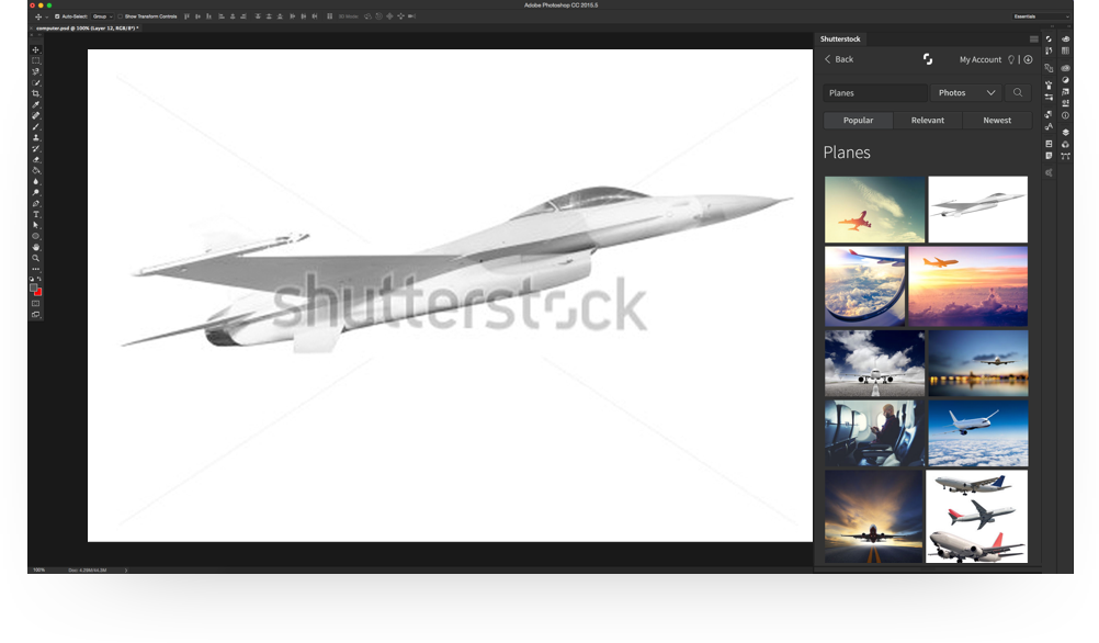 plugin-shutterstock-photoshop